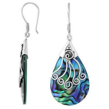Medusa Abalone Earrings