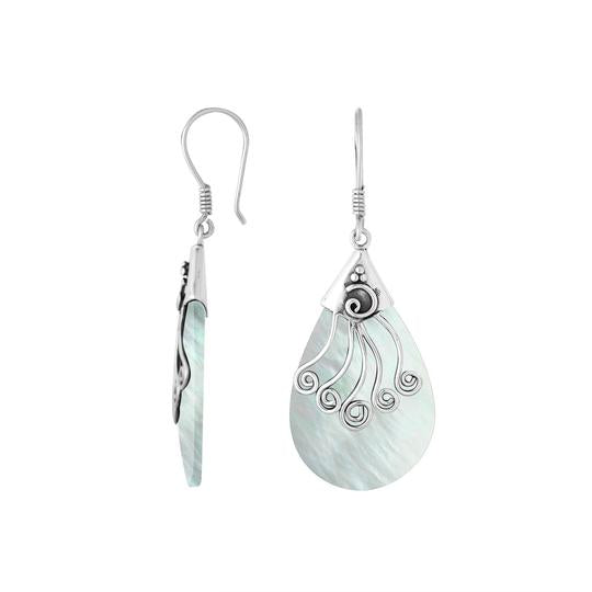 Athena Mother of Pearl Earrings