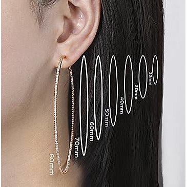 """Huggie"" Hoop Earrings"