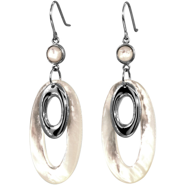 Sempre Mother of Pearl Earrings