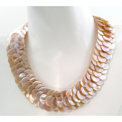 Rougir Mother of Pearl Necklace