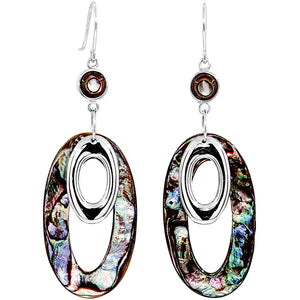 Prisma Abalone Earrings