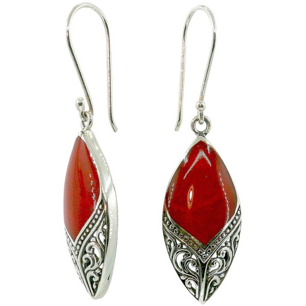 Arabesque Coral Earrings