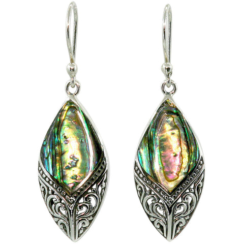 Arabesque Abalone Earrings