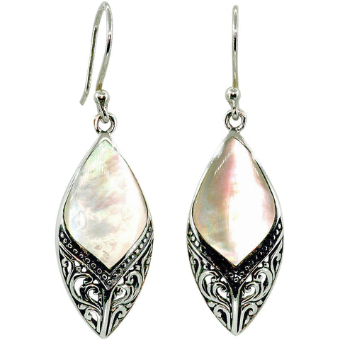 Arabesque Mother of Pearl Earrings