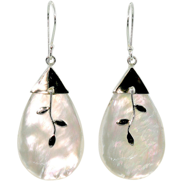 Rosa Mother of Pearl Earrings