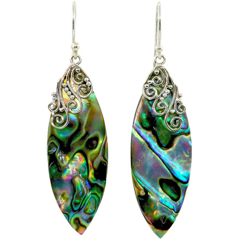 Belladonna Abalone Earrings