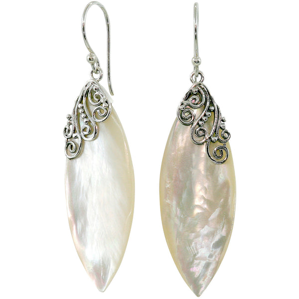 Belladonna Mother of Pearl Earrings