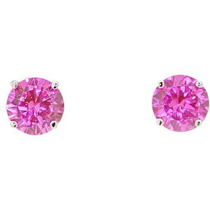 Rosa Pink Ice Earrings