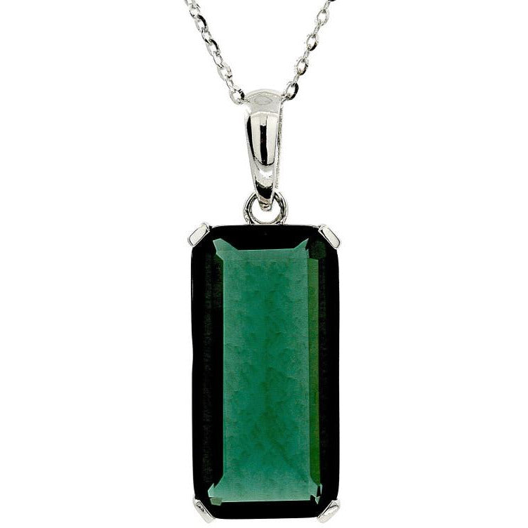 Nouveau Green Quartz Necklace