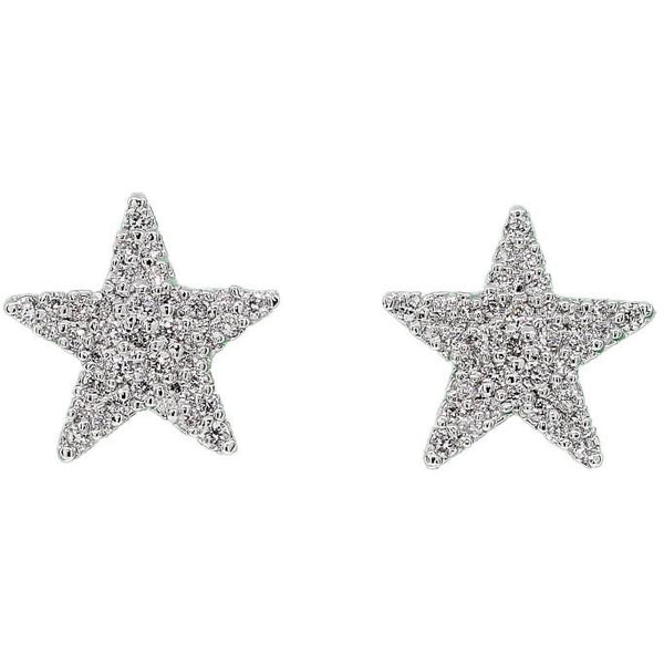 Shimmering Star Earrings