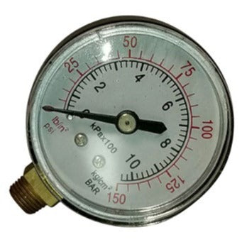 "2"" Dial Utility Pressure Gauge for Air Compressor"