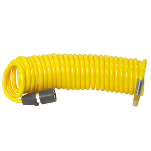 16 foot yellow coil hose