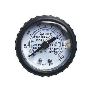 "1.5"" Dial Utility Pressure Gauge, Center Back Mount"