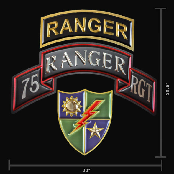 U.S. Army Rangers DUI Shield