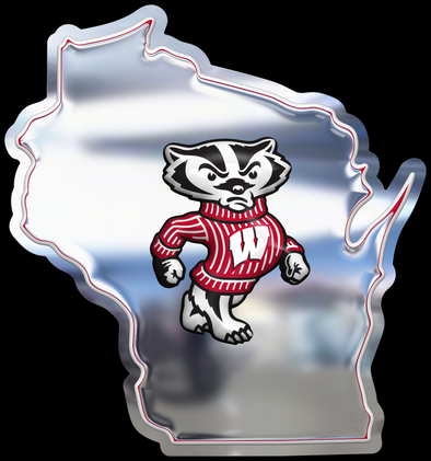 Wisconsin Bucky Chrome