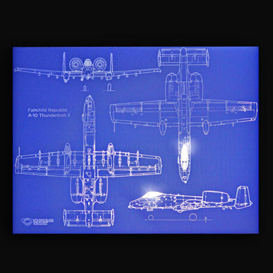 A-10 Thunderbolt II Blueprint