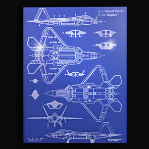 F-22 Raptor Blueprint