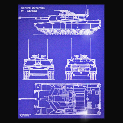 M1 Abrams Blueprint