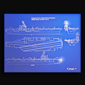Nimitz Class Aircraft Carrier Blueprint