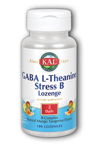GABA L-Theanine Stress B Lozenge