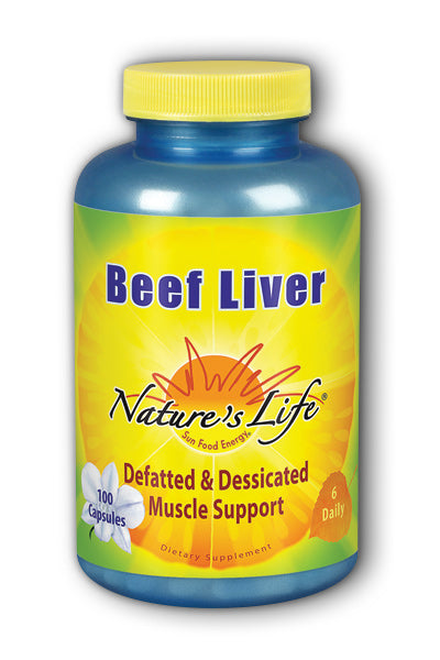 Beef Liver 1,500 mg