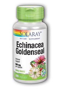 Echinacea Root with Goldenseal Root