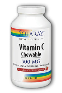 Vitamin C-500 Chewable Cherry