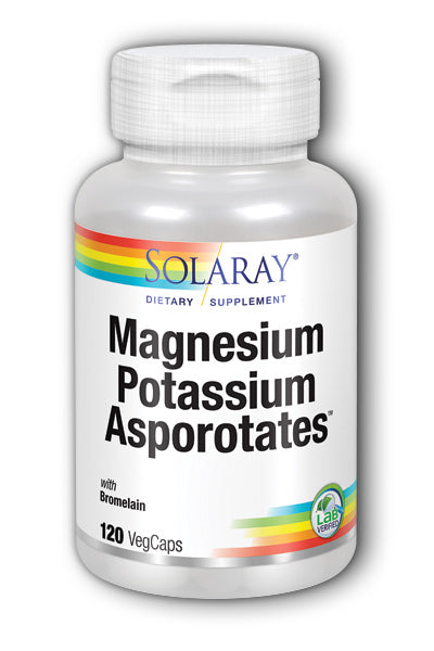 Magnesium and Potassium Asporotates with Bromelain