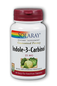 Indole-3-Carbinol with Cruciferous Vegetables