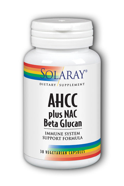 AHCC Plus NAC & Beta Glucan