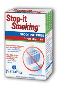 Stop-it Smoking 2 Part Quit Smoking Kit
