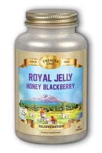 Royal Jelly Chewable, Blackberry