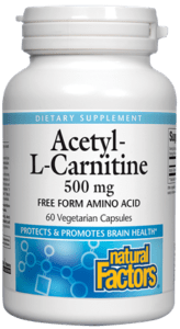 Acetyl L-Carnitine 500MG TwinPack