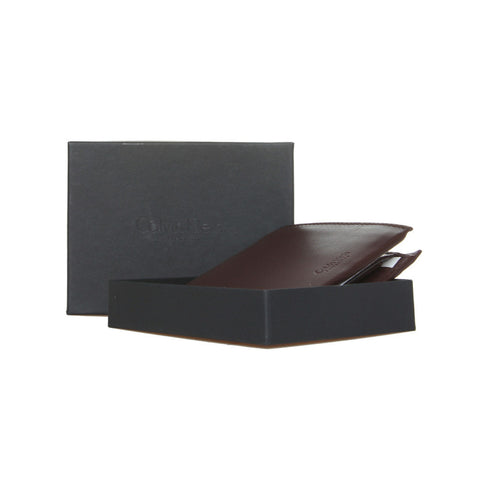 Calvin Klein Brown Bifold Coin Flap Wallet Box