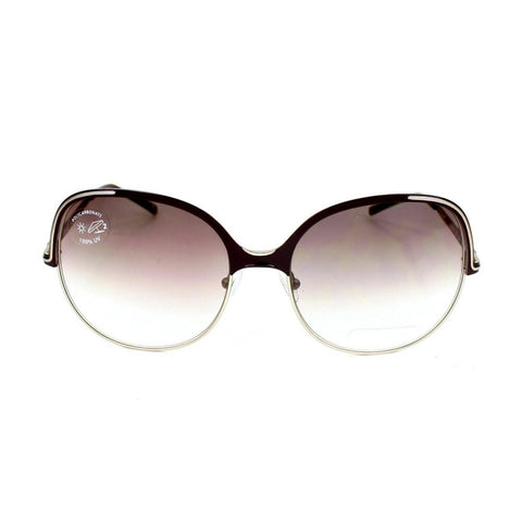 Chloe Oval Gunmetal Sunglasses Sale