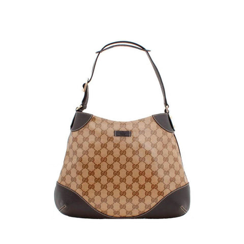 Gucci Beige Crystal Hobo Handbag Sale