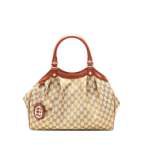 Gucci Sukey Red Tote Handbag Sale