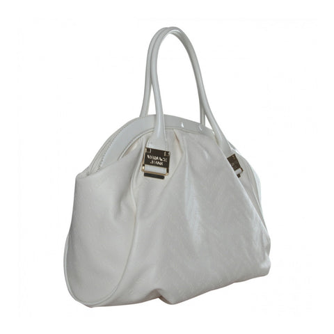 Versace White Bowler Bag Sale
