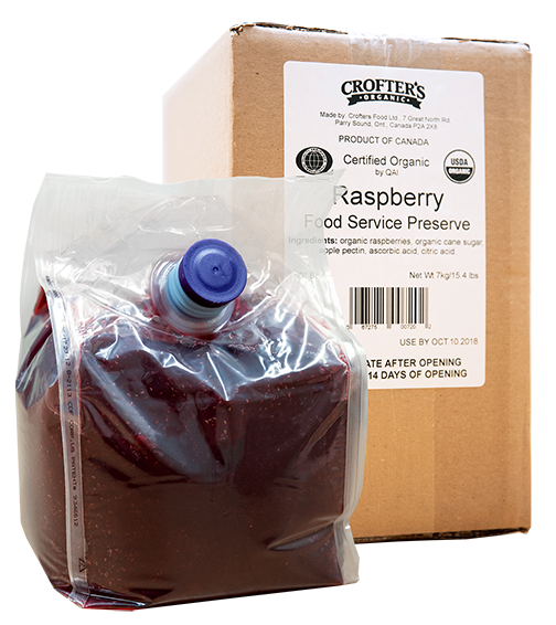 Raspberry Bulk Bag-In-Box Preserve