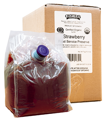 Strawberry Bulk Bag-In-Box Preserve
