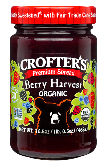 Berry Harvest Family Size Premium Spread