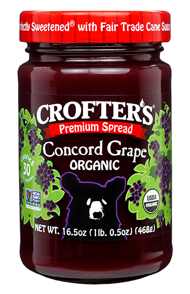 Concord Grape Family Size Premium Spread
