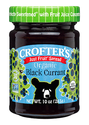 Black Currant Just Fruit Spread