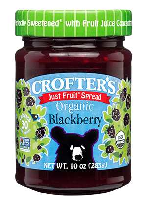Blackberry Just Fruit Spread
