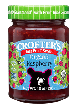 Raspberry Just Fruit Spread