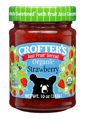 Strawberry Just Fruit Spread