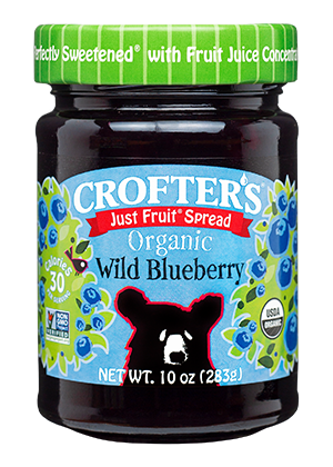 Wild Blueberry Just Fruit Spread