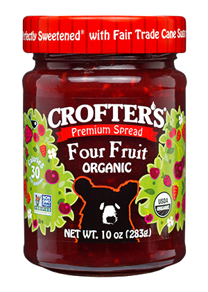 Four Fruit Premium Spread