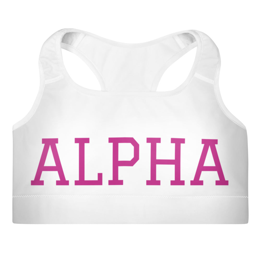 **Cloud Soft Fabric** ALPHA Sports Bra